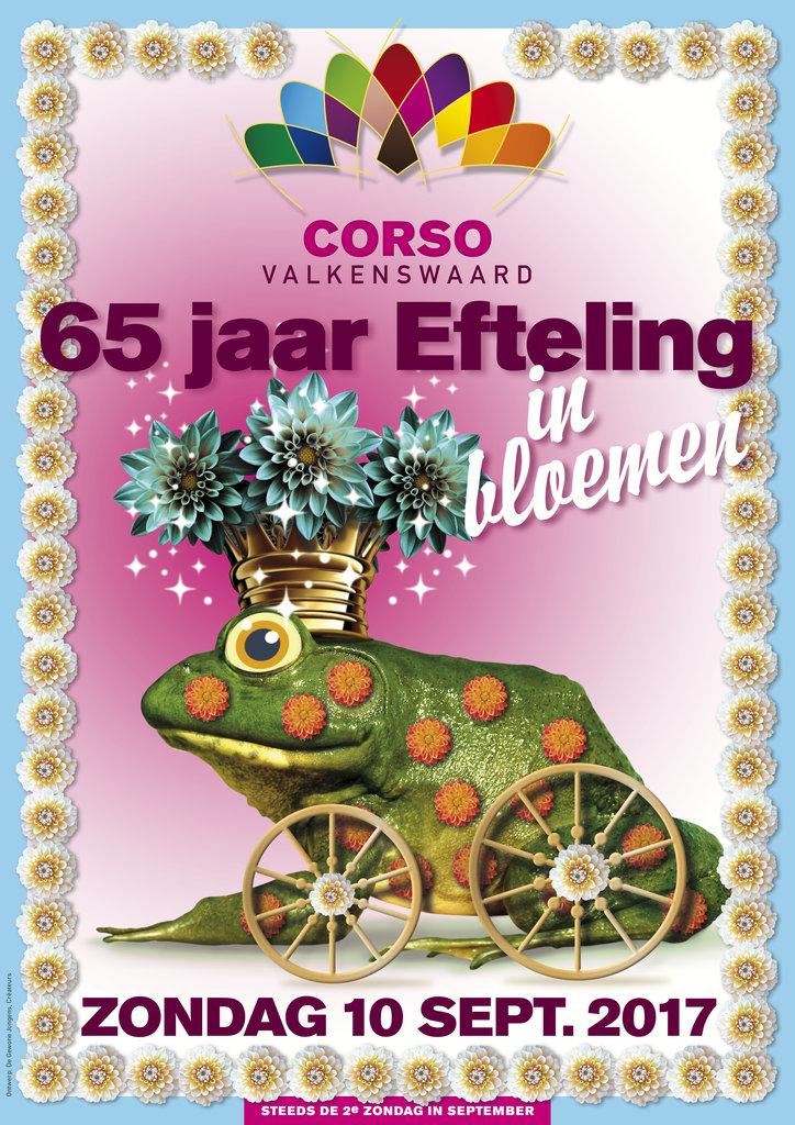 Thema 2017: 65 jaar Efteling in bloemen